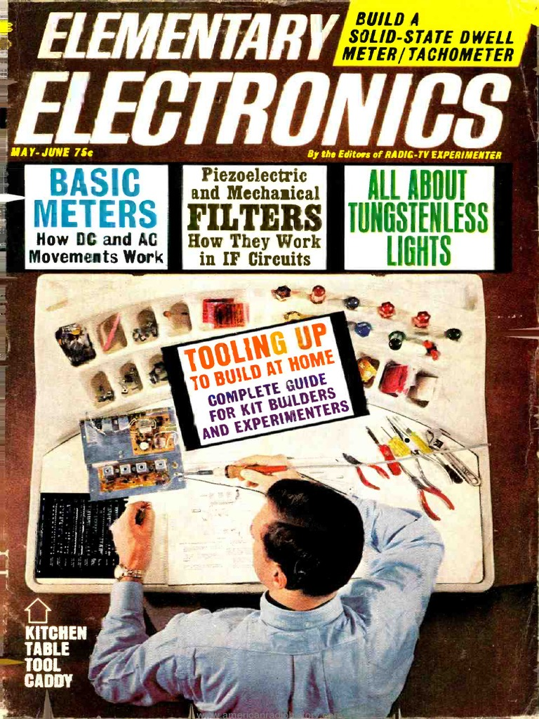 Elementary Electronics 1966 05 06 Electricity Amplifier Philips Tv Chassis Gr24 Aa Service Manual