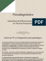 Patologias y Test Proyectivos Graficos