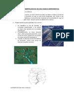 Parámetros Morfológicos de Una Cuenca Hidrográfica