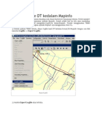 Export Logfile DT Kedalam Mapinfo
