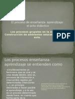 Meneses Gerardo El Proceso Enseã'Anza Aprendizaje