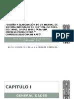 Diseño y Elaboradsfación de Un Manual Sig