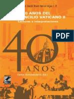SHICKENDANTZ, C.-40 años del Concilio vaticano II