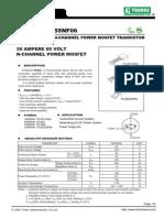 55NF06 MOSFET Datasheet