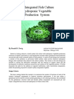 An Integrated Fish Culture and Vegetable Hydroponics Production System