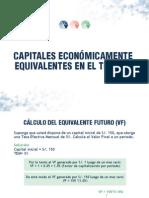 Capitales Económicamente Equivalentes en El Tiempo