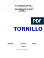 Tornillos- Dibujo Mecanico