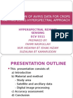 Classification of Aviris Data for Crops Mapping Using