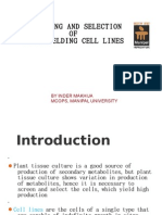 Ppt Cell Lines