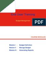 End User Training Handouts - BM