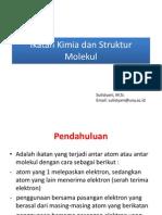 4 Ikatan Kimia Dan Struktur Molekul