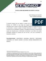 Trabalho - A Justiça Grtuita Como Mecanismo de Acesso à Justiça - Sávio Rodrigues de Carvalho