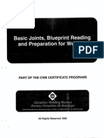 Blueprint Reading of Basic Joints and Preparation for Welding