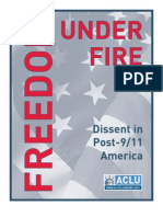 ACLU - Freedom Under Fire (Dissent in Post 9-11 America)