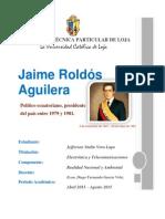 Biografía Jaime Roldós Aguilera