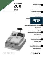 Casio TK-3200 manual