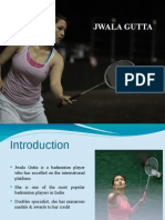 Jwala Gutta – Indian Badminton Player