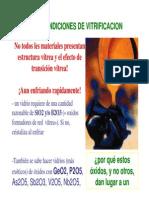 Curso Estructura Vidrios Thierry Poirier, USB Caracas Vzla
