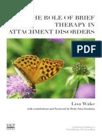 Brief Therapy Attachment Disorders