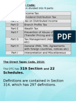 Direct Taxes Code 2009