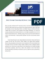 India Strategic Partnership With Russia
