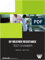 Uv Weather Resistance Test Chamber