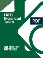 l Rfd Beam Load Tables