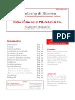 Italia 1 Trim 2015 - Pil Debito & Co