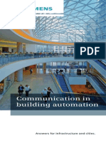 Communication Standards for Building Automation A6V10209534 Hq En
