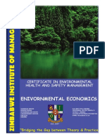 1 Environmental Economics