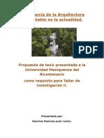 Protocolo Arquitectura Sustentable