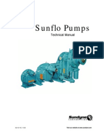 Pump General Industry High-pressure Sunflo Technical Manual