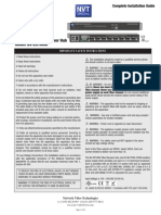 manual NVT - configuraciones e instalación