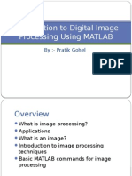 Introduction to Digital Image Processing Using MATLAB