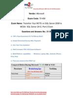 Baindump2go New Updated 70-458 Dumps Free Download (21-30).pdf