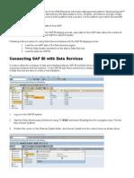 SAP BI Stating Process