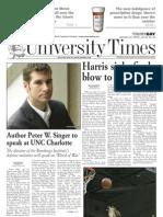 The University Times - January 21, 2010