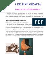 Breve Historia de La Fotografia 1