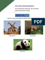 Haiwan Dan Pemakanannya