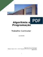 Algoritmia e Programação Relatorio 1130425 1130627