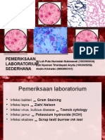 PPT pemeriksaan lab sederhana