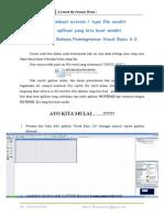 Cara Membuat Extensi File sendiri dengan Vb 6.0