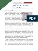 Crisis Economica XIX , XX