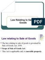 13 Law Relating to Sale of Goods