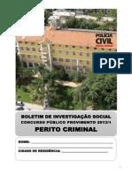 Boletim Investigacao Social Perito Criminal