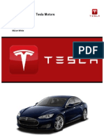 Marketing Plan - Tesla Motors