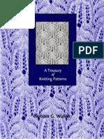 Treasury of Knitting Patterns by Barbara G. Walker