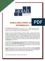 Global Legal Confex, London, September 2015