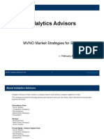 Indalytics Advisors - MVNO Market Strategies for SME