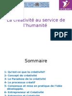 La créativité au service de l'humanité.ppt